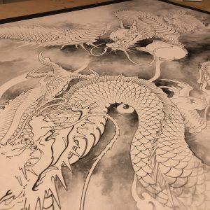 [:en]Two Dragon WIP[:ja]お絵描き配信はOBS studio+periscopeがいい感じです。[:]