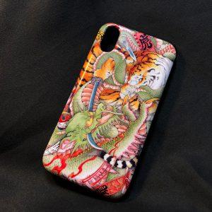 [:en]iPhoneXS case Dragons[:ja]iPhone XS用ケース3種類 龍図 台風龍 龍虎図[:]