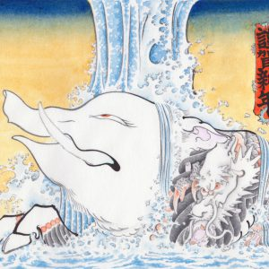 [:ja]謹賀新年とか肉筆浮世絵『猪図』とかうりぼーちゃんとか[:]
